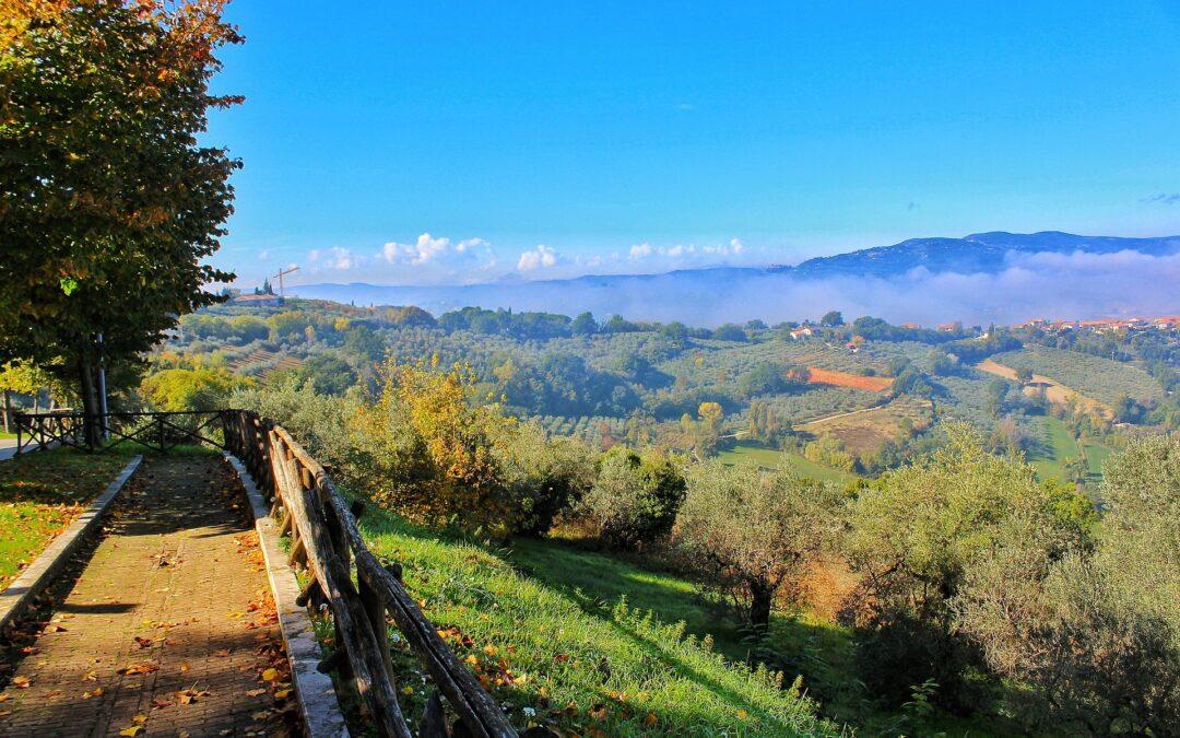 nyd det flotte grønne natur i midtitalien